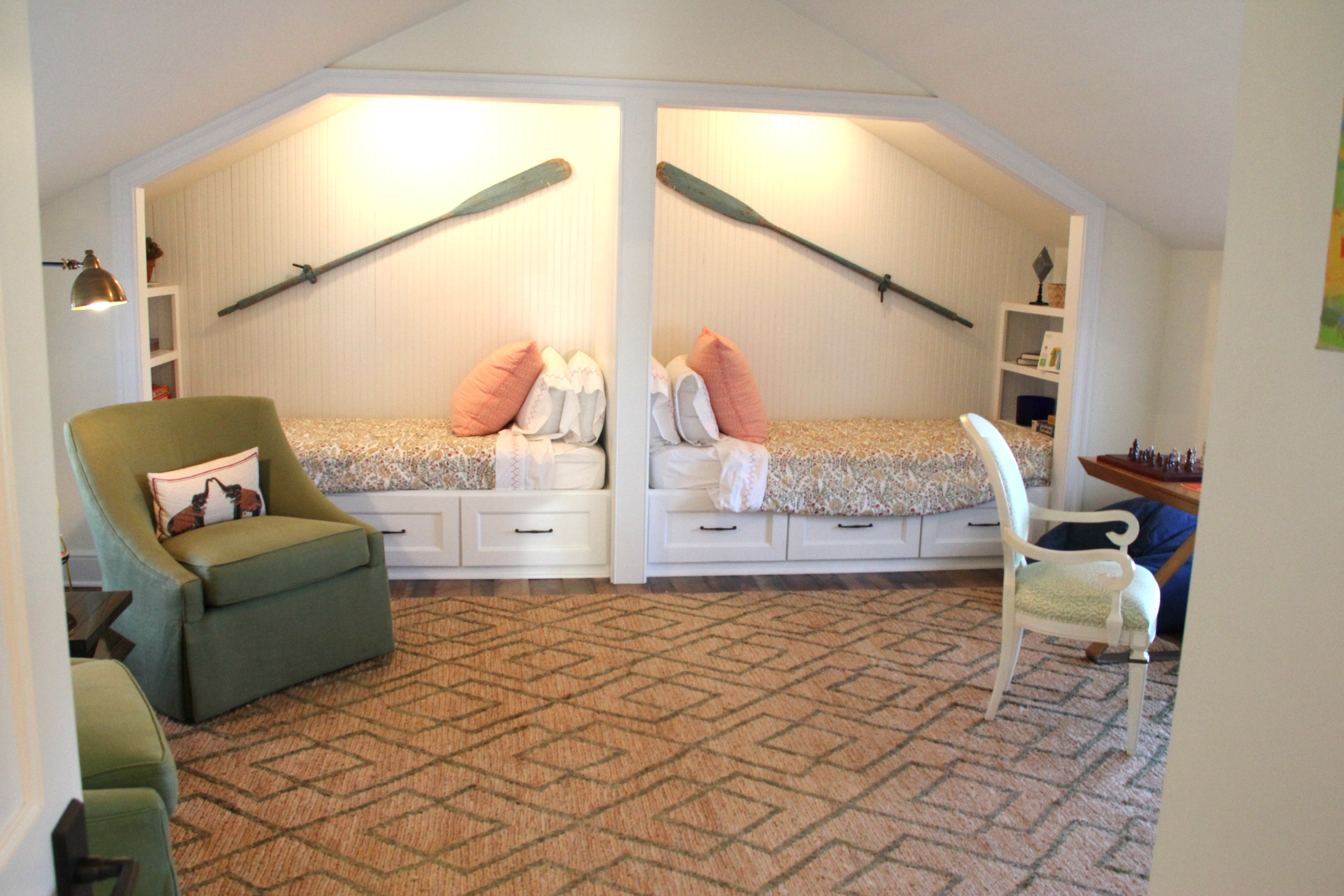 great shared room!!! Southern living design Idea House!