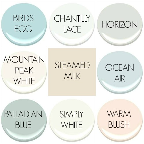 THE 2016 PAINT COLORS OF MY OLD COUNTRY HOUSE