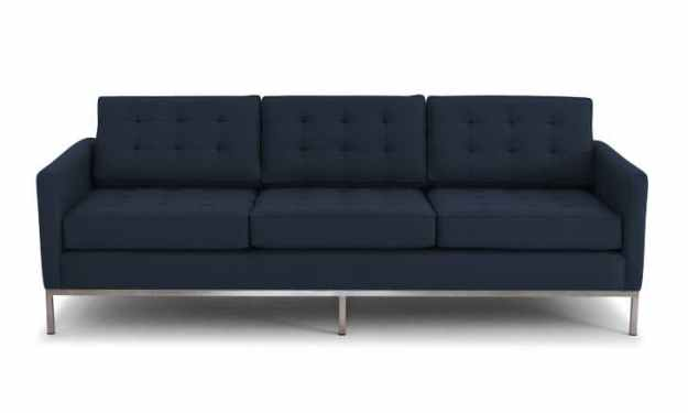 "JOYBIRD FRANKLIN SOFA IN ""ESSENCE ECLIPSE"" - I LOVE NAVY!!!"