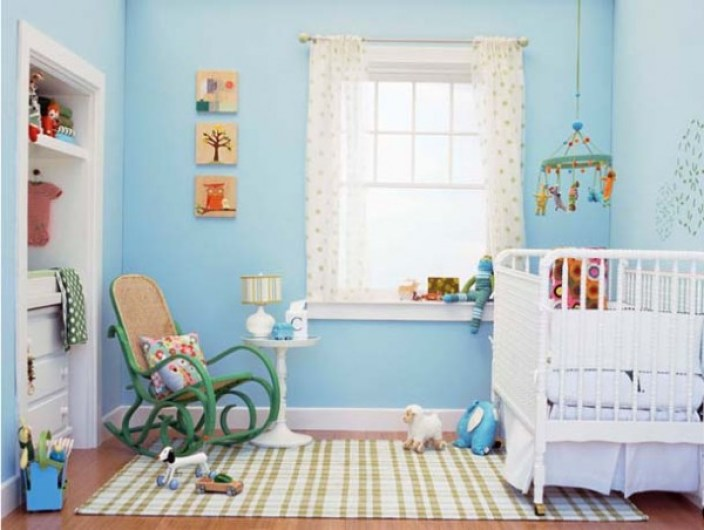 POWDER BLUE NURSERY