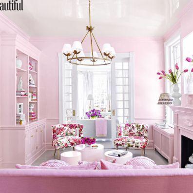 http://www.housebeautiful.com - KATIE UKROPS LIVING ROOM 2016