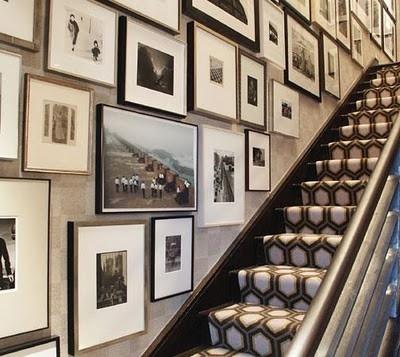 Martha Stewart - Gallery Wall