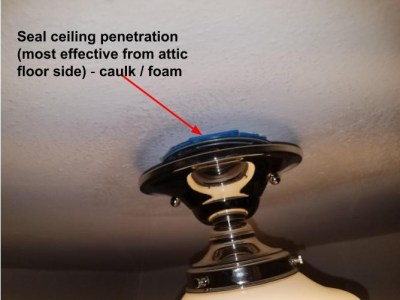 Air Sealing-lighting