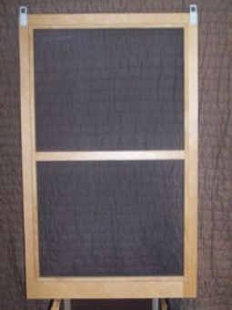 wood screen A-A