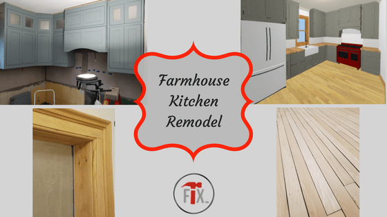 "My Old House""Fix"" Farmhouse Kitchen Remodel: Part 3 – Execution, Phase II"