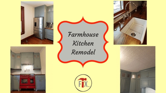 Farmhouse Kitchen Remodel: Part 3 – Execution Phase III via @myoldhousefix