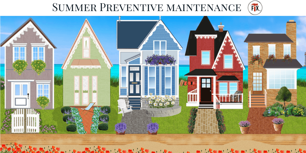 Summer Preventive Maintenance Tips & Checklist