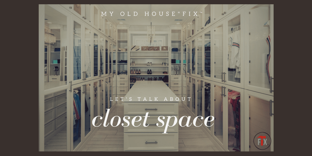 Limited Closet Space? A 4-Step Solution via @myoldhousefix