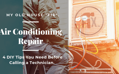 Air Conditioning Repair – 4 DIY Tips You Need Before Calling a Technician