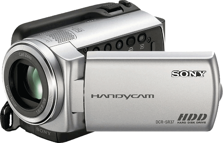Camcorder with built in HDD Hard Disc Drive Storage