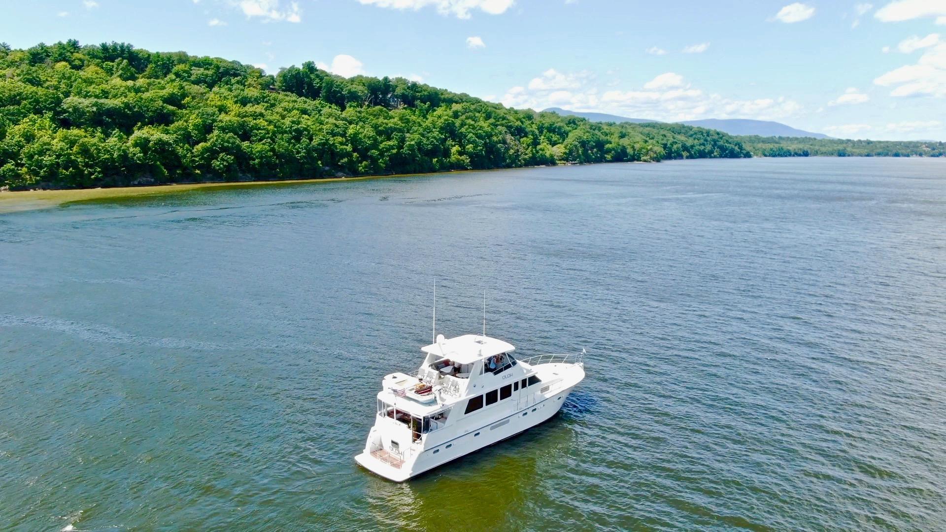 Cruising The Hudson River