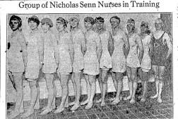August 1920 nurses