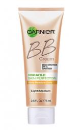Garnier bb cream SPF 15, light/ medium, $12.99