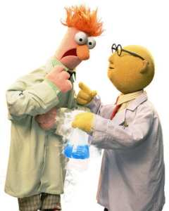 Muppets Beaker and Bunsen
