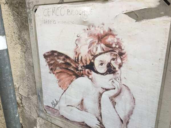 Cherub in Scuba Mask