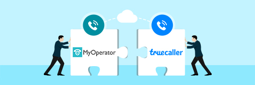 Truecaller and MyOperator integration [Illustration by MyOperator]