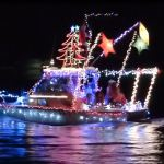 2012 Gulf Shores Orange Beach Christmas Lighted Boat Parade Pictures and Videos