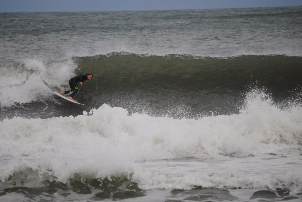 Nathan Howell Drops in at Terrys Cove