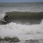 Nathan Howell dropping in at Terrys Cove