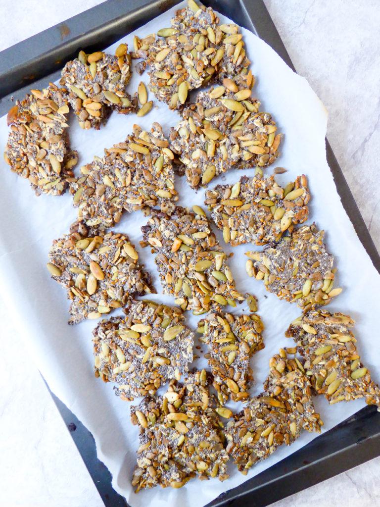 Multi seeds crackers