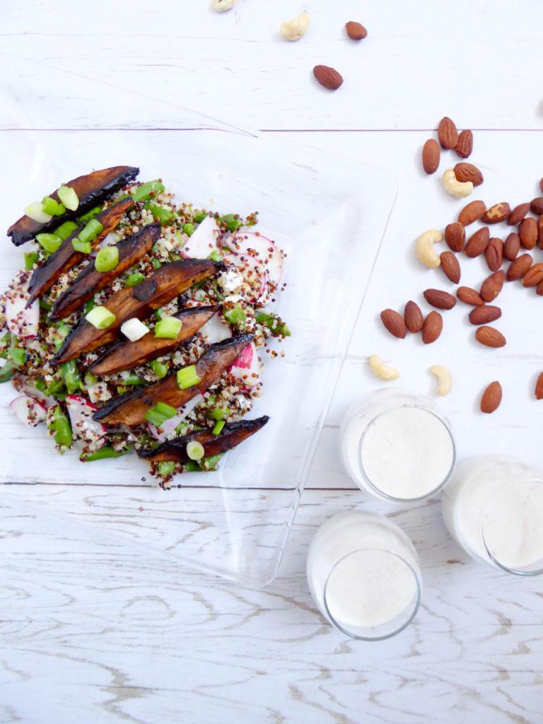 Vegan Portobello Bacon - great meatless alternative to enjoy like a BLT!