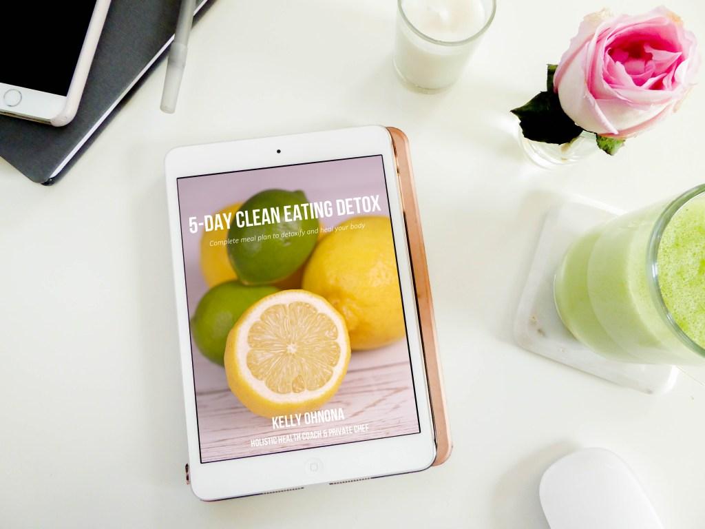 5-day clean eating detox meal plan