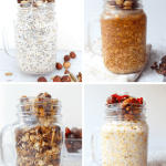 6 oats breakfast to kick start your morning - Gluten-free and vegan options that can be made in advance and perfect to grab and go