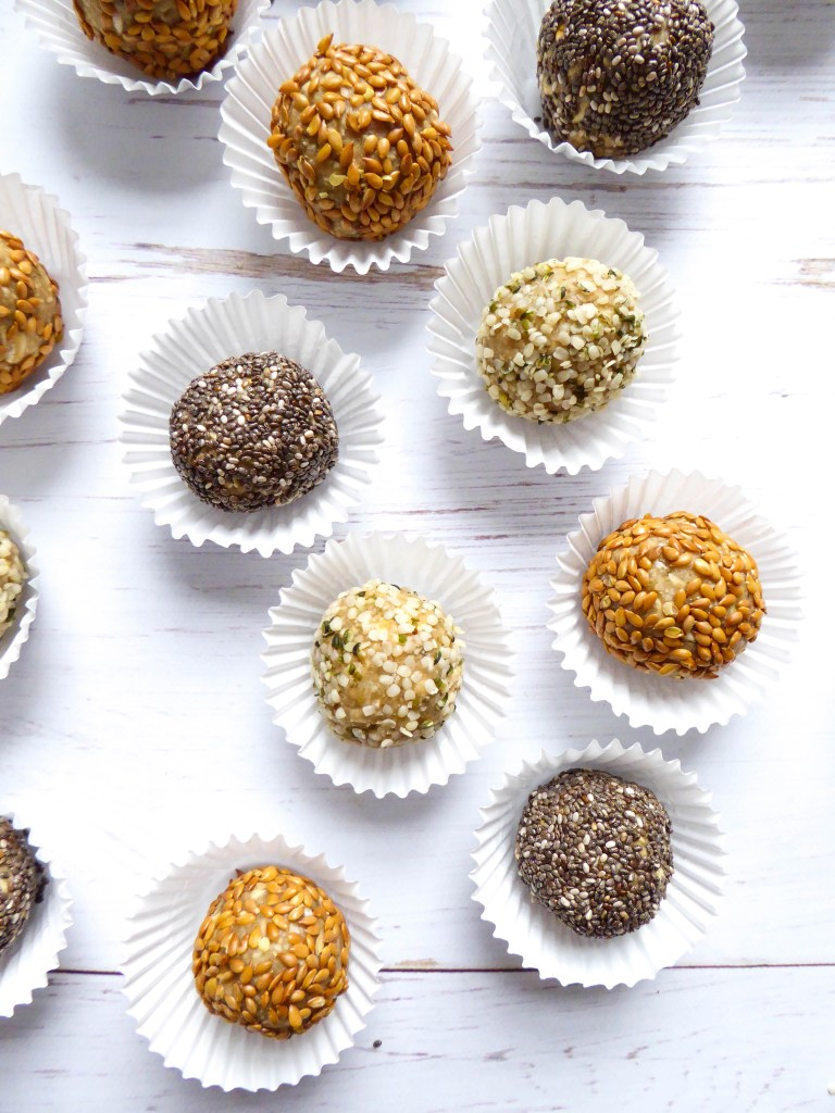 The Best Energy Bites - Vegan and gluten-free low in sugar protein bites, ideal for snack and grab-and-go