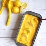 Super 3 ingredients Refreshing Mango Sorbet - perfect healthy indulgence for warm days, vegan and sugar free