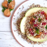Rosh Hashana Sweet Salad - Sweet salad made with the fruits from Rosh Hashana's seder