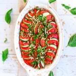 ZUCCHINI TOMATO TIAN-CRUMBLE | Vegan | Gluten-Free