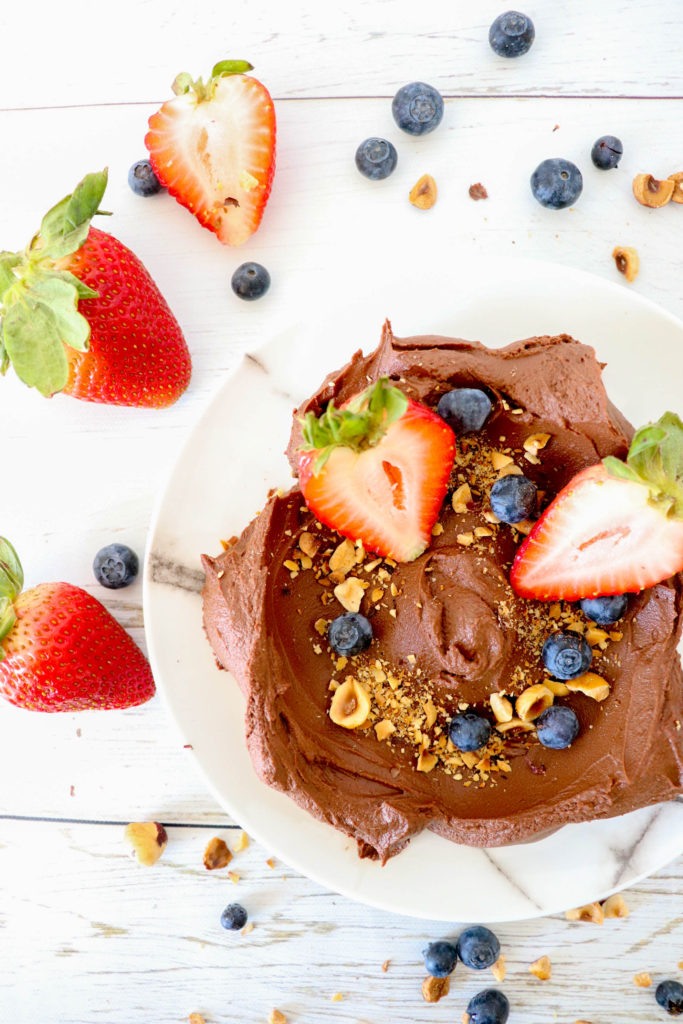 Chocolate Avocado Mousse - Healthy vegan and gluten free indulgence for dessert or snack