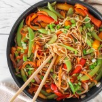 Asian Noodles - an easy vegan and healthy alternatives. Low in calories, high in nutrients and flavors.