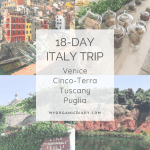 ITALY GUIDE - Our 18-day itinerary traveling from Venice to Cinco-Terra, Tuscany and Puglia