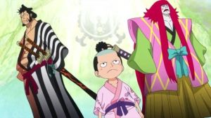 The Secret Of Kinemon And Momonosuke One Piece Anime