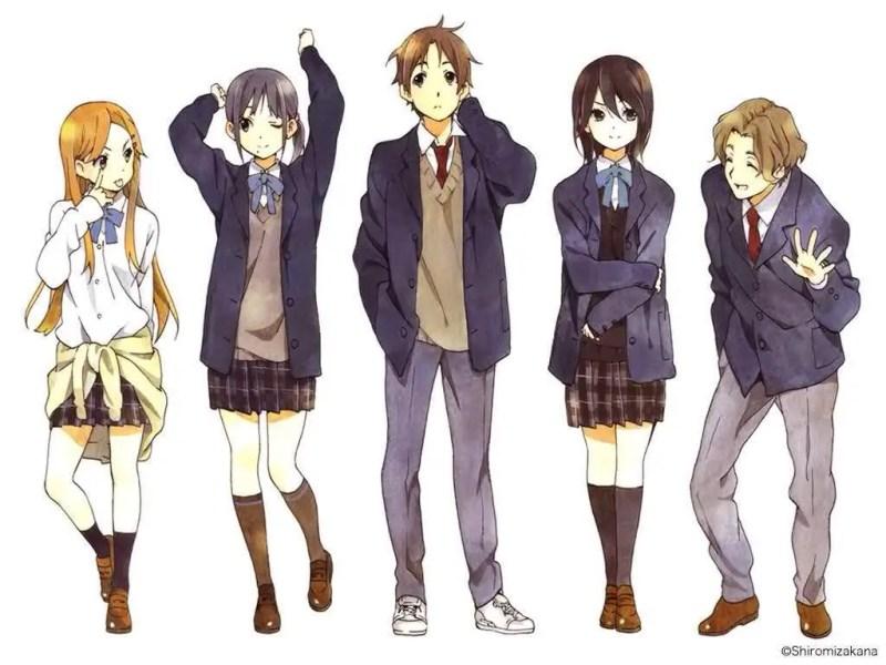 Japanese School Uniform in Anime