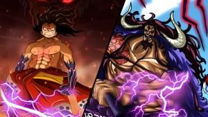 Luffy vs Kaido