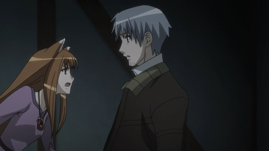 Holo accepting her place in the world