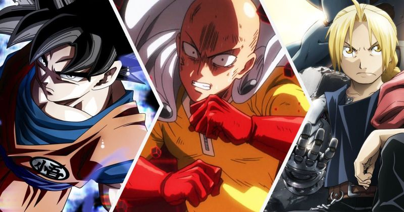 Strongest Anime Characters Cover