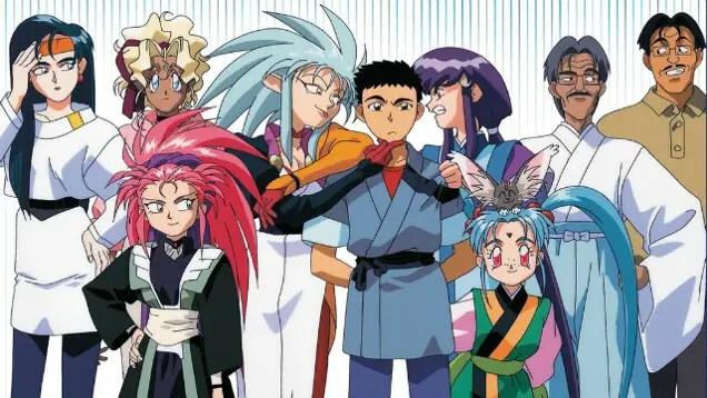 Tenchi Muyo! best harem anime