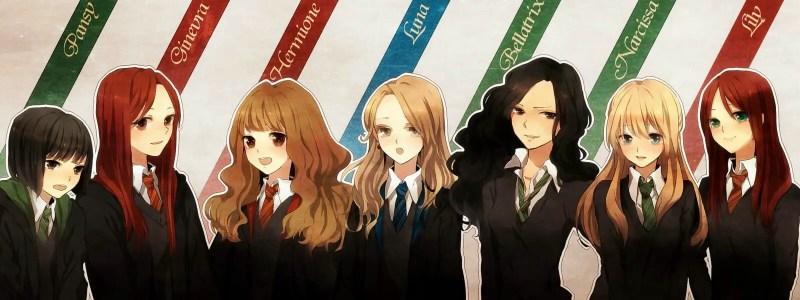 Harry Potter Harem Anime Girls