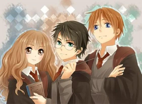Harry Potter Harem