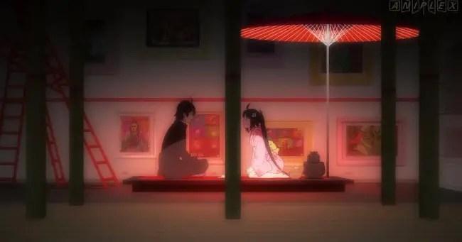 Koyomimonogatari (Episode 7; Koyomi Tea)