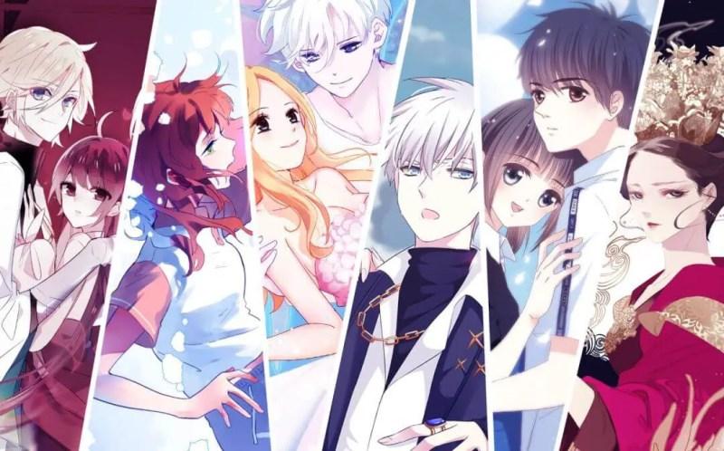 chinese manga cover