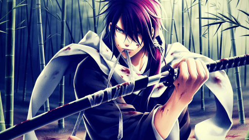 Anime Swordsman Characters