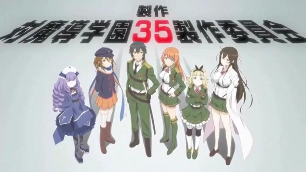 AntiMagic Academy 35th Test Platoon anime like hundred