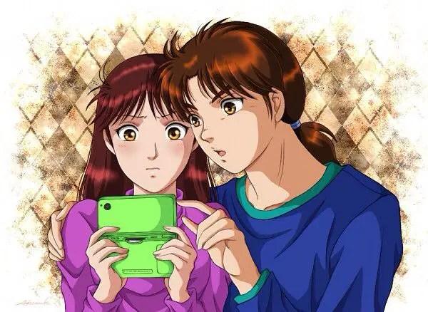 Hajime Kindaichi & Miyuki Nanase (The Kindaichi Case Files) cute anime couples
