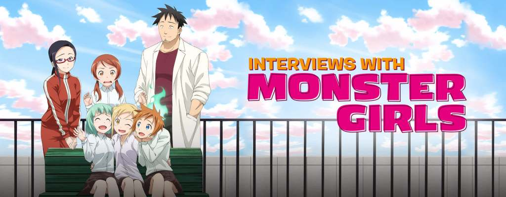 Interviews with Monster Girls– 2014- slice of life