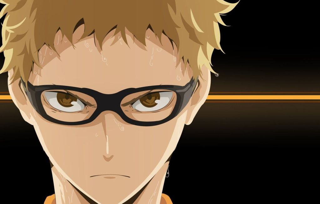 Kei Tsukishima anime guy with glasses