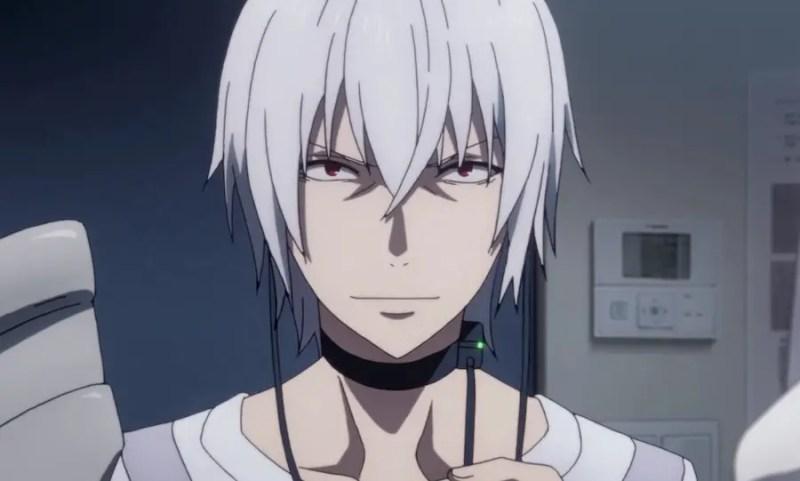 Accelerator crazy anime boy